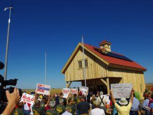 Build Our Energy barn dedication, Sept. 22, 2013. Photo by Mark Hefflinger