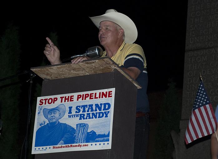 Nebraska rancher Randy Thompson (Photo by Mitch Paine)
