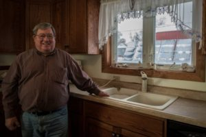 Pipeline Fighter and renewable energy producer Art Tanderup (Photo by J Grace Young)