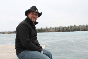 Bold Nebraska Agriculture and Local Food Director Ben Gotschall in Canada on the Energy East Prairies Tour.